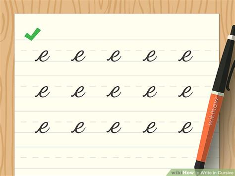 How To Write In Cursive (with Sample Alphabet