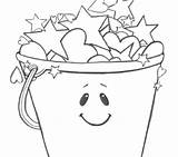 Bucket Coloring Pages Filler Pail Fill Holly Getcolorings Getdrawings Filling Sheet Printable Colorings sketch template