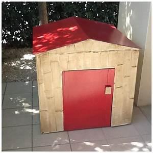 Cabane En Carton À Colorier : construire une cabane en carton lpb carton ~ Melissatoandfro.com Idées de Décoration