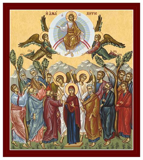 40 tage nach seiner auferstehung gab. ANALIPSI | Kirchengemeinde Christi Himmelfahrt zu Berlin