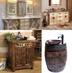 Contemporary, Bathroom, Design, Incredible, Rustic, Bathroom, Decor