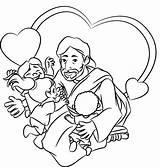 Jesus Friend Crafts Sunday Coloring Bible Preschool Behance Children Toddler Warner Press Church Loves Lesson Jr Williams Friendship Christ Wilson sketch template