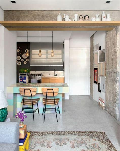 Wohnen Im Kleinen Appartement Einrichtungsidee Fuer Zweiraumwohnung by Kleine Wohnung Einrichten