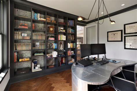 exceptional industrial home office designs