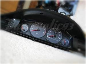 Diy  94-01 Integra Cluster Into 92-95 Civic - Honda-tech