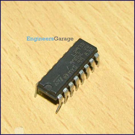 L293D Motor Driver IC | L293D Datasheet