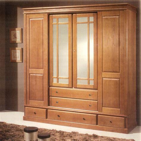 armoire chambre 4 portes armoire en bois massif mzaol com