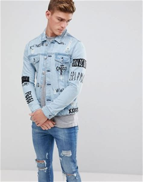 esprit longline denim jacket new in clothing for asos