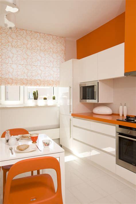 kitchen design orange konsekwentnie justyna puchała yesdesign projekty wnętrz 1294