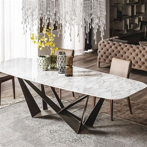 used dining room sets dining table marble top