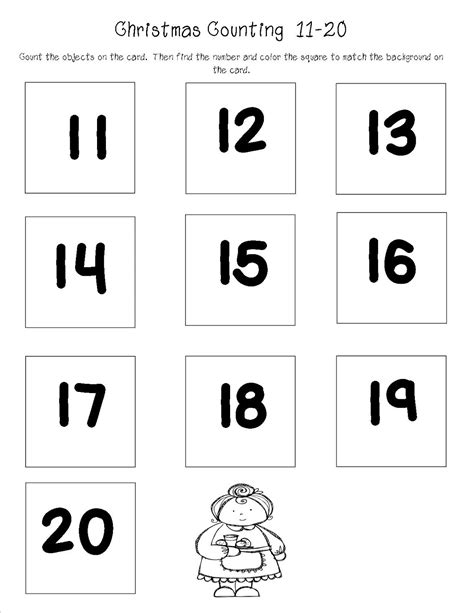 counting to 20 new calendar template site
