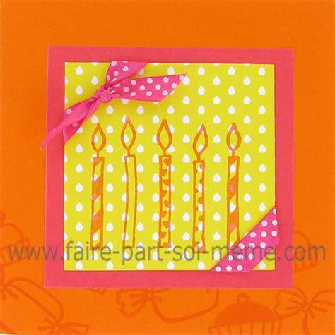 id 233 e de carte d anniversaire 5 bougies