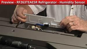 Humidity Sensor - Rf263teaesr Samsung Refrigerator