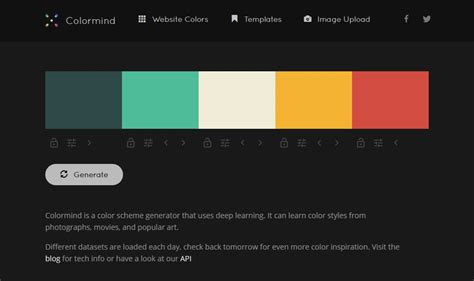 Color Palette Generators  Web Designing
