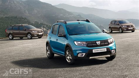 dacia sandero stepway 2017 dacia sandero sandero stepway and logan get a makeover for 2017 debut cars uk