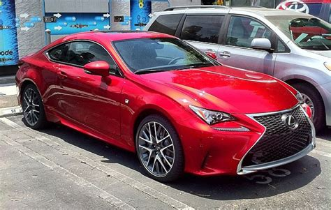lexus cars red photo gallery lexus rc f sport in red lexus enthusiast