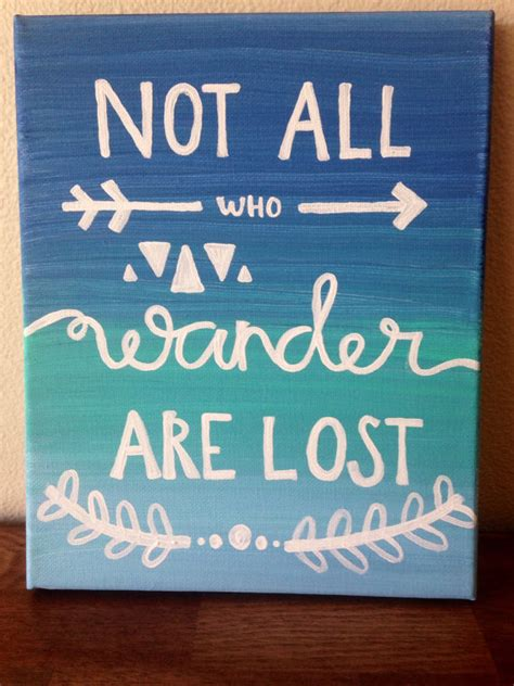Easy Paintings With Quotes