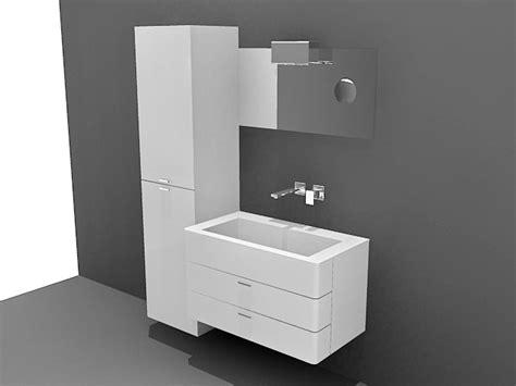small bathroom vanity  cabinet  model  studiods maxautocad files