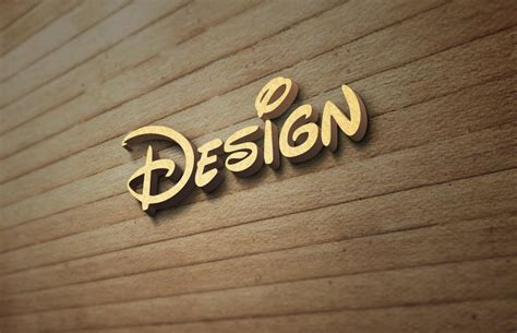 Simple edit with smart layers. Wood Wall Logo MockUp Free PSD Template on Behance