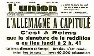L Union De Reims : l 39 union 8 mai 1945 ~ Dailycaller-alerts.com Idées de Décoration