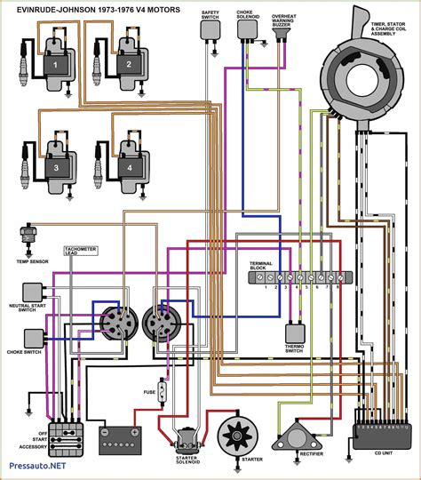 Evinrude Ignition Switch Wiring Diagram Free