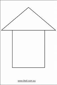 free printable house templates printable template With printable house template for kids