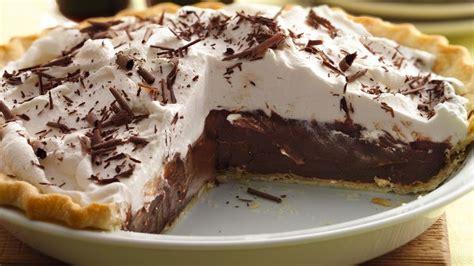 dark chocolate stout cream pie recipe tablespooncom