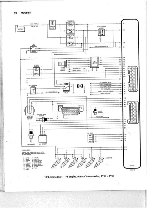 vs v8 commodore ecu wiring diagram somurich com
