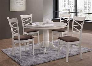 Ensemble Chaise Et Table : ensemble table et chaises table avec 4 chaises cs1690 ~ Dailycaller-alerts.com Idées de Décoration