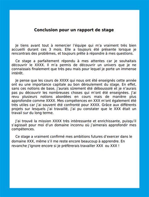 rapport de stage 3eme cuisine exemple dintroduction dun rapport de stage de 3eme
