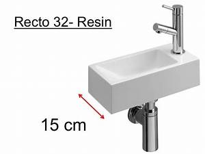Lave Main 15 Cm Profondeur : meubles lave mains robinetteries lave mains lave mains ~ Melissatoandfro.com Idées de Décoration