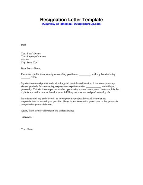 letter of resignation templates letter of resignation template aplg planetariums org