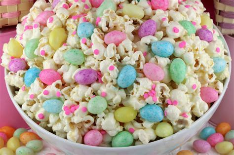 Easter Jelly Bean Popcorn Two Sisters