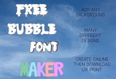 bubble letter generator select  bubble letters