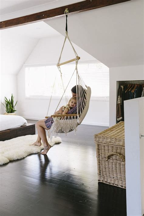 Room Hammock Chair by Sleek Bohemian Rustic Family Home Amazing Home Indoor