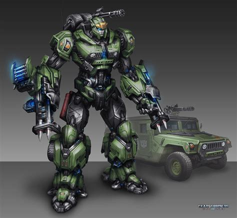 Transformers Universe Concept Art By Tom Stockwell