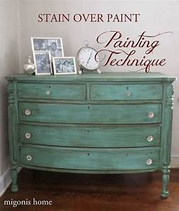 Best 25+ Stain over paint ideas on Pinterest Rehabbed