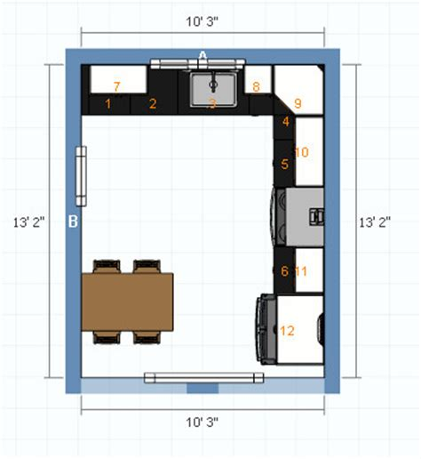 eat in kitchen floor plans need small eat in kitchen layout help 8857