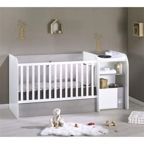 chambre evolutive sauthon sauthon lit bébé combiné evolutif 70x140 cm blanc