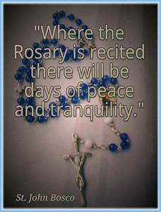 The power of th... Rosary Quotes