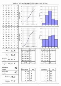 Cumulative Frequency Diagram Resources