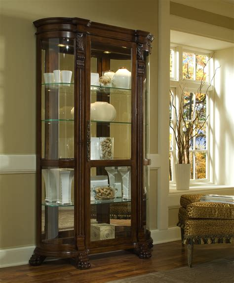 curio cabinets for foxcroft curio cabinet from pulaski 102003 coleman