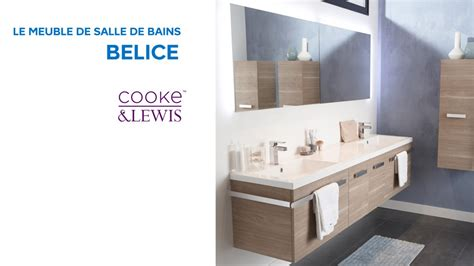 meuble de salle de bains belice cooke lewis  castorama youtube