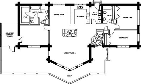 Log Modular Home Plans Log Home Floor Plans, Floor Plans