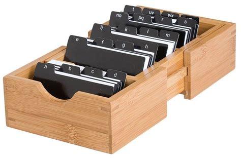 Business Card Organizer Storage Holder Box Case Credit Id