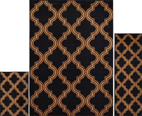 modern area rug 3 pc set modern contemporary geometric area rug runner