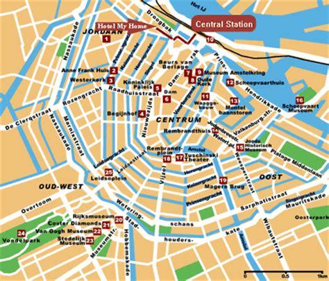Amsterdam Museum District Map by 167 Erasmus 2011 Netherlands 167 September 2011