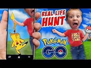 Pokemon GO! Hunting in Real Life w/ FGTEEV Boys! Shawn ...