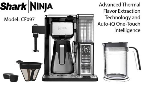 If intended as a gift, the packaging may reveal the contents. Ninja Coffee Bar Brewer System Model: CF097 | Expert Review