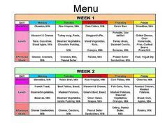Daycare Food Menu Template by 1000 Images About Daycare Menus On Daycare